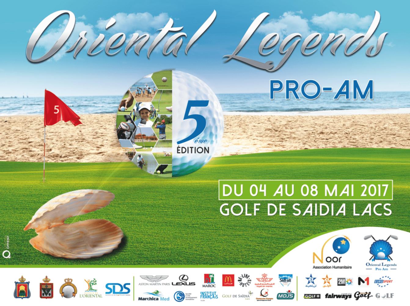 L'Oriental Legends Pro-AM revient au Golf de Saïdia
